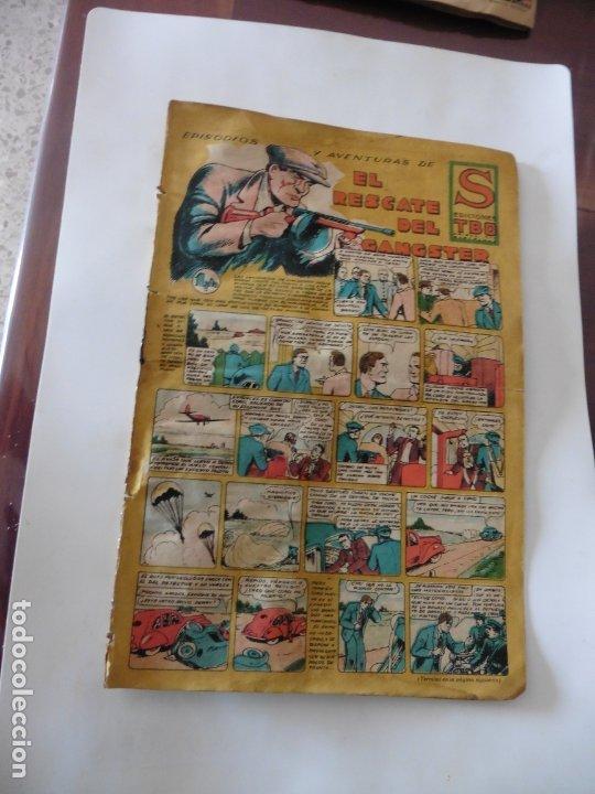 S.EDICIONES TBO AÑO 1947 EL RESCATE DEL GASNSTER ORIGINAL (Tebeos y Comics - Buigas - Otros)