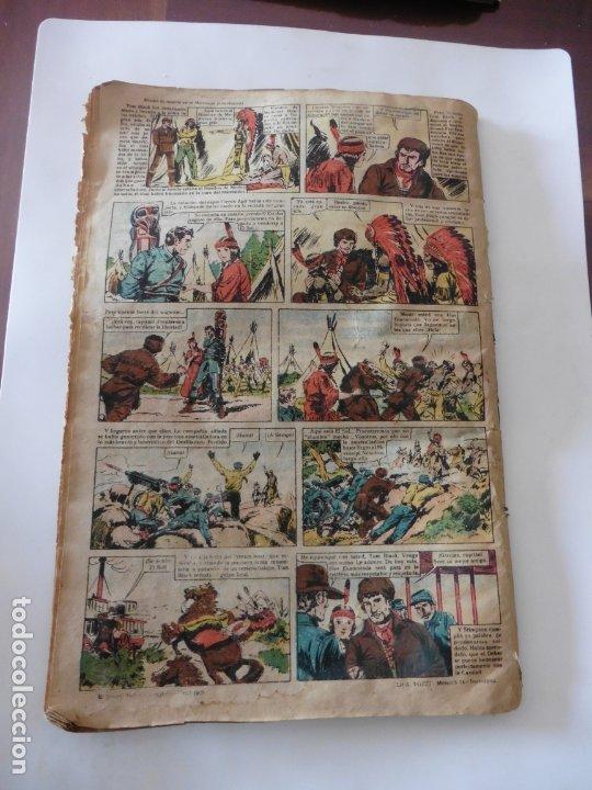 Tebeos: S.EDICIONES TBO AÑO 1947 MISION DE MUERTE ORIGINAL - Foto 2 - 172682904