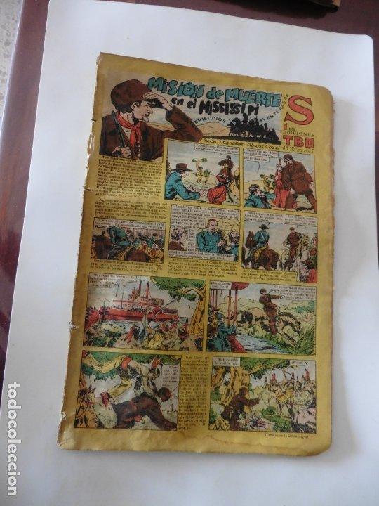 S.EDICIONES TBO AÑO 1947 MISION DE MUERTE ORIGINAL (Tebeos y Comics - Buigas - Otros)