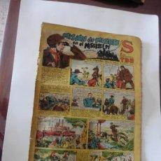 Tebeos: S.EDICIONES TBO AÑO 1947 MISION DE MUERTE ORIGINAL. Lote 172682904
