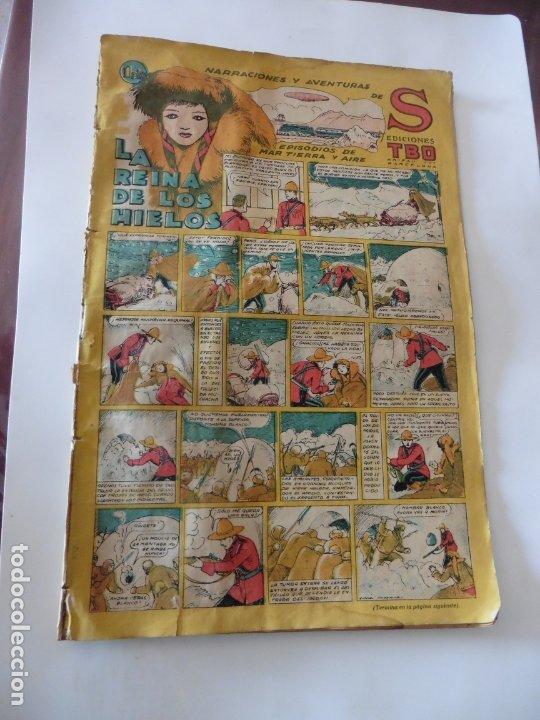 S.EDICIONES TBO AÑO 1947 LA REINA DE LOS HIELOS ORIGINAL (Tebeos y Comics - Buigas - Otros)
