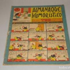 Tebeos: TBO ALMANAQUE 1957. Lote 172701035