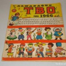 Tebeos: TBO ALMANAQUE 1966 BUEN ESTADO. Lote 172701798