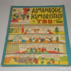 Tebeos: TBO ALMANAQUE 1981 BUEN ESTADO. Lote 172705293