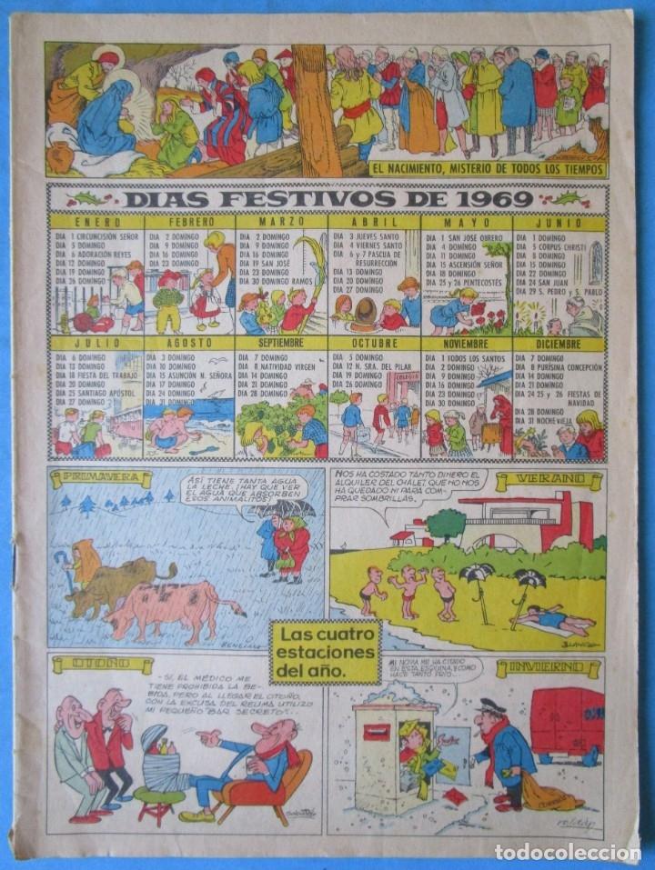TBO - DÍAS FESTIVOS DE 1969 - (Tebeos y Comics - Buigas - TBO)