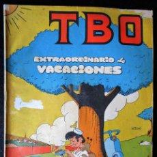 BDs: TBO EXTRAORDINARIO DE VACACIONES - BUIGAS 1969. Lote 174997924