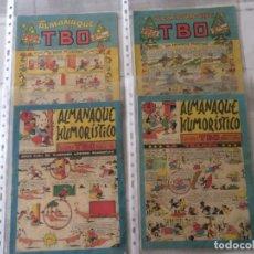 Tebeos: ALMANAQUES TBO - AÑOS 50'S. Lote 175099950