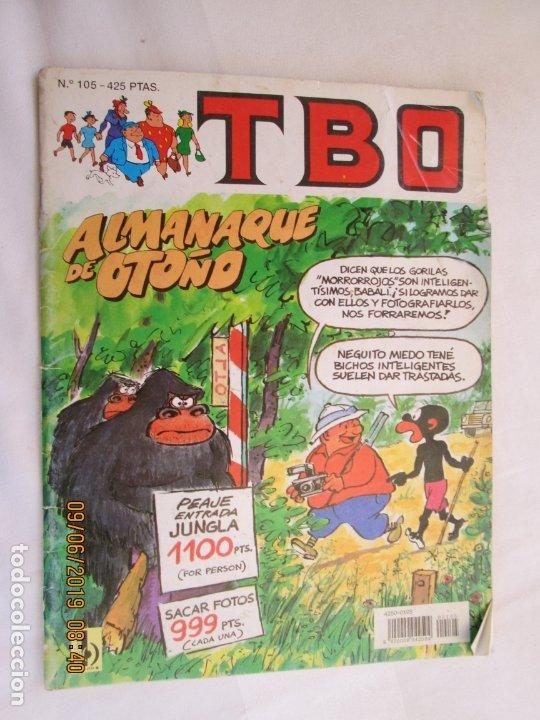 TBO ALMANAQUE DE OTOÑO Nº 105 -1983 (Tebeos y Comics - Buigas - TBO)