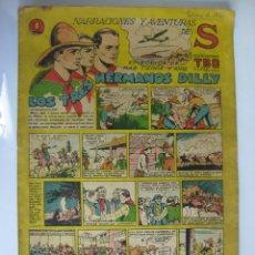 Tebeos: NARRACIONES Y AVENTURAS DE S - TBO - LOS TRES HERMANOS DILLY. Lote 177296813