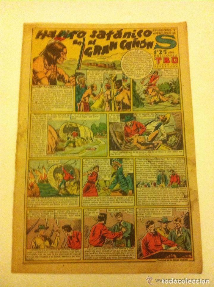 S DE TBO - HÁLITO SATÁNICO EN EL GRAN CAÑON (Tebeos y Comics - Buigas - Otros)