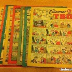 Tebeos: TBO - LOTE DE 10 (SIN NÚMERO). Lote 177665478