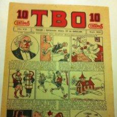 Tebeos: TBO .- Nº. 352- AÑO VIII- AÑO 1924 - COMPLETAMENTE NUEVO - 10 CTS. Lote 177666412
