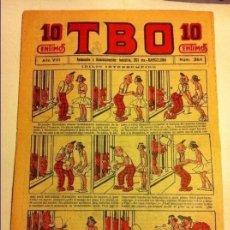 Tebeos: TBO .- Nº. 384- AÑO VIII- AÑO 1924 - COMPLETAMENTE NUEVO - 10 CTS. Lote 177667180