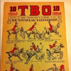 Tebeos: TBO .- Nº. 383- AÑO VIII- AÑO 1924 - COMPLETAMENTE NUEVO - 10 CTS. Lote 177667297