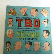 Tebeos: TBO -NUMERO-HOMENAJE 50 AÑOS - MUY BIEN CONSERVADO. Lote 178296612