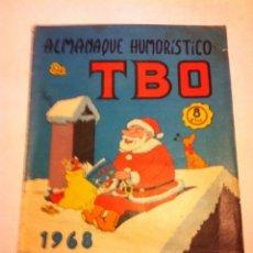 Tebeos: TBO - ALMANAQUE HUMORÍSTICO 1968. Lote 178298350