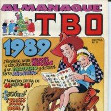 Tebeos: 2 EJEMPLARES TBO Nº 12 -11 1988-89. Lote 178349866