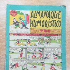 Tebeos: ALMANAQUE HUMORISTICO #18 EL CHASQUEADOR CHASQUEADO (1962). Lote 179173247