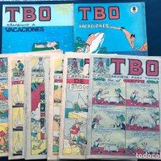 Tebeos: TBO / 16 EJEMPLARES DIFERENTES ( VER NÚMEROS ) 2ª EPOCA / 1965-1966 / SIN USAR /. Lote 180109112