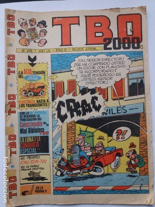 TBO 2000. Nº 2118. 1975. (Tebeos y Comics - Buigas - TBO)
