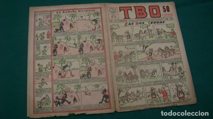 TBO TEBEO 1917 NUMERO 1095 ESTINTIN (Tebeos y Comics - Buigas - TBO)