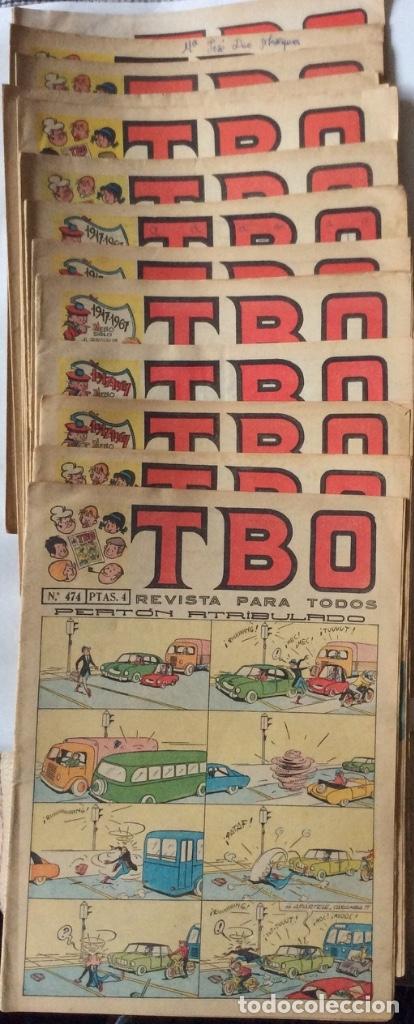 TBO - 14 NÚMEROS -AÑOS 60 -70- (Tebeos y Comics - Buigas - TBO)