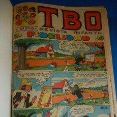 Tebeos: REVISTA INFANTIL. T. B.O. ENCUADERNADA. UN TOMO, NÚMEROS NO CORRELATIVOS. Lote 182856322