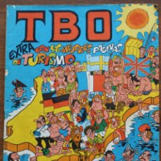 Tebeos: TBO EXTRA CON LAS MEJORES PAGINAS DE TURISMO. BUIGAS.. Lote 182976987