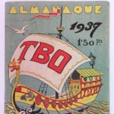 Tebeos: ALMANAQUE TBO 1937. Lote 186008038