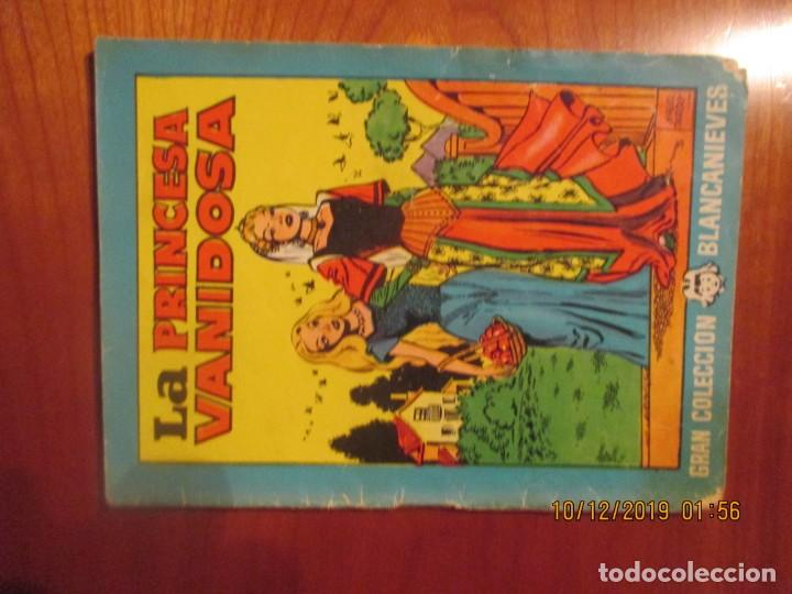 GRAN COLECCION BLANCANIEVES,NºLA PRINCESA VANUDOSA -CON RECORTABLE MUÑECA-17 X 12 CM (Tebeos y Comics - Buigas - Otros)