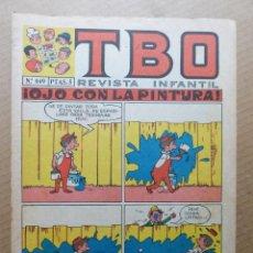 Tebeos: TEBEO TBO Nº 649 OJO CON LA PINTURA - EDITORIAL BUIGAS ESTIVILL Y VIÑA AÑOS 70. Lote 187378428