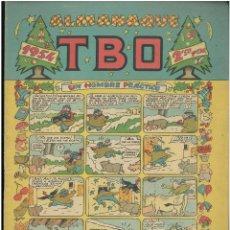 Tebeos: ALMANAQUE TBO 1954. ED. BOHIGUES. C-14. Lote 187510128