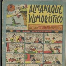 Tebeos: ALMANAQUE HUMORISTICO TBO 1953. ED. BOHIGUES. C-14. Lote 187510908