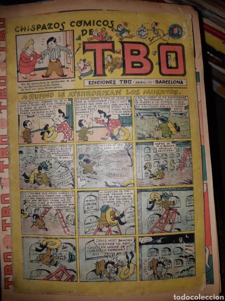 TEBEOS-CÓMICS CANDY - TBO 35 - A RUFINO LE ATERRORIZAN LOS MUERTOS - BUIGAS - XX98 (Tebeos y Comics - Buigas - TBO)