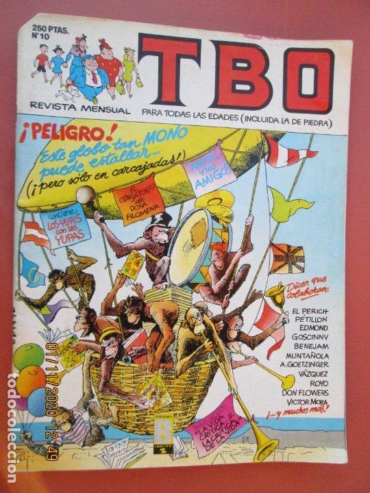 TBO REVISTA Nº 10 - 1988 - EDICIONES B. (Tebeos y Comics - Buigas - TBO)