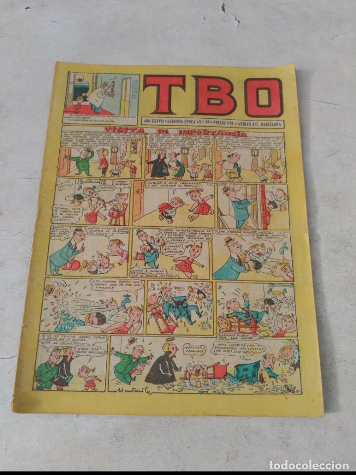 Tebeos: TBO 2ª Época LOTE de 51 Números entre el 34 al 173 ORIGINAL de BUIGAS Año 1953-1954 - Foto 3 - 191289816