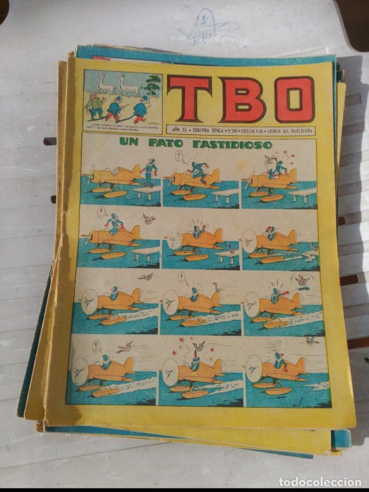Tebeos: TBO 2ª Época LOTE de 51 Números entre el 34 al 173 ORIGINAL de BUIGAS Año 1953-1954 - Foto 4 - 191289816