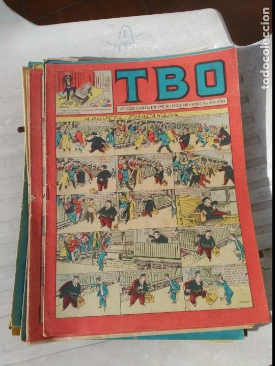 Tebeos: TBO 2ª Época LOTE de 51 Números entre el 34 al 173 ORIGINAL de BUIGAS Año 1953-1954 - Foto 5 - 191289816