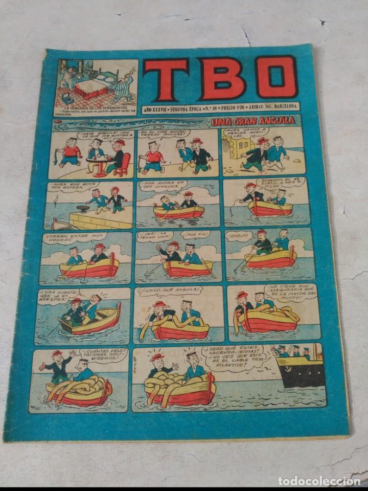 Tebeos: TBO 2ª Época LOTE de 51 Números entre el 34 al 173 ORIGINAL de BUIGAS Año 1953-1954 - Foto 6 - 191289816