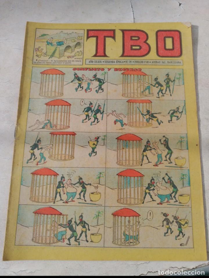 Tebeos: TBO 2ª Época LOTE de 51 Números entre el 34 al 173 ORIGINAL de BUIGAS Año 1953-1954 - Foto 7 - 191289816