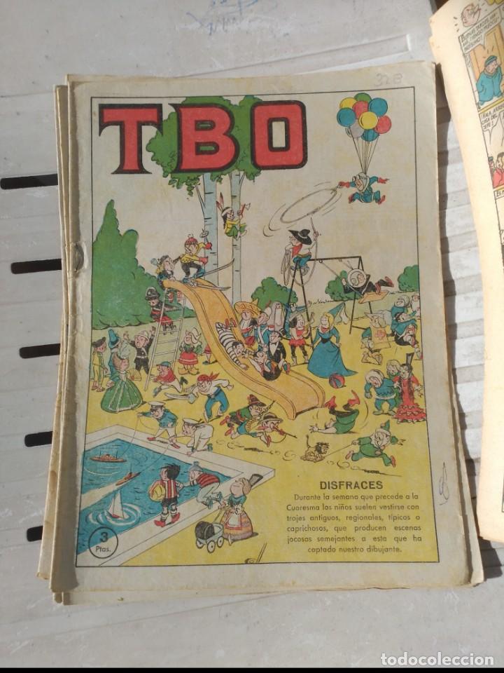 Tebeos: TBO 2ª Época LOTE de 7 Números 6 entre el 322 y 379 más 465 ORIGINAL de BUIGAS - Foto 2 - 191298670
