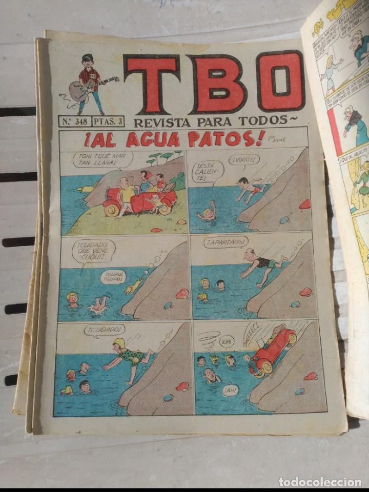 Tebeos: TBO 2ª Época LOTE de 7 Números 6 entre el 322 y 379 más 465 ORIGINAL de BUIGAS - Foto 4 - 191298670