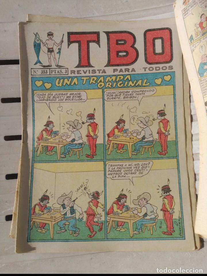 Tebeos: TBO 2ª Época LOTE de 7 Números 6 entre el 322 y 379 más 465 ORIGINAL de BUIGAS - Foto 5 - 191298670
