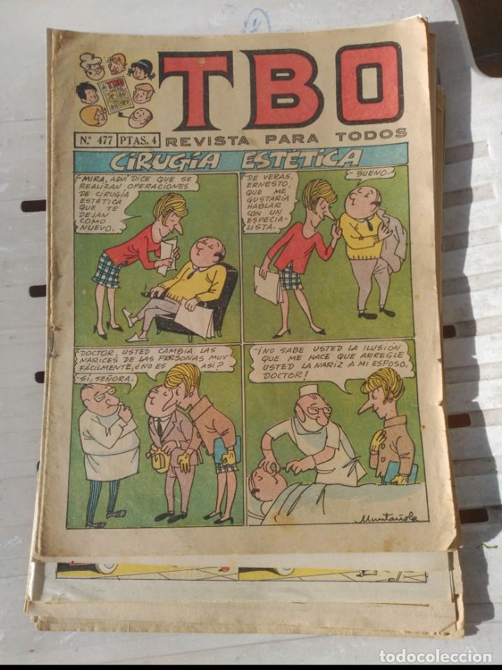 TBO LOTE DE 10 NÚMEROS ORIGINAL DE BUIGAS (Tebeos y Comics - Buigas - TBO)