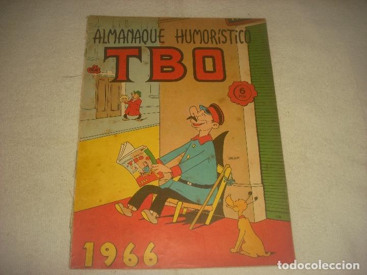 TBO, ALMANAQUE HUMORISTICO 1966 . (Tebeos y Comics - Buigas - TBO)