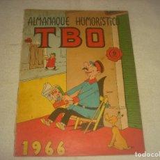 Tebeos: TBO, ALMANAQUE HUMORISTICO 1966 .. Lote 191381317