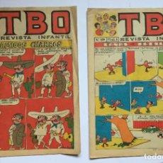 Tebeos: LOTE 2 TEBEOS: TBO. Nº 643 Y 699 (BUIGAS, 1970-71) 1ª EDICIÓN. ORIGINALES. Lote 191923937