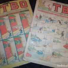 Tebeos: LOTE TBO SEGUNDA ÉPOCA N° 124 /N° 211 1958 ÚNICO?. Lote 192195180