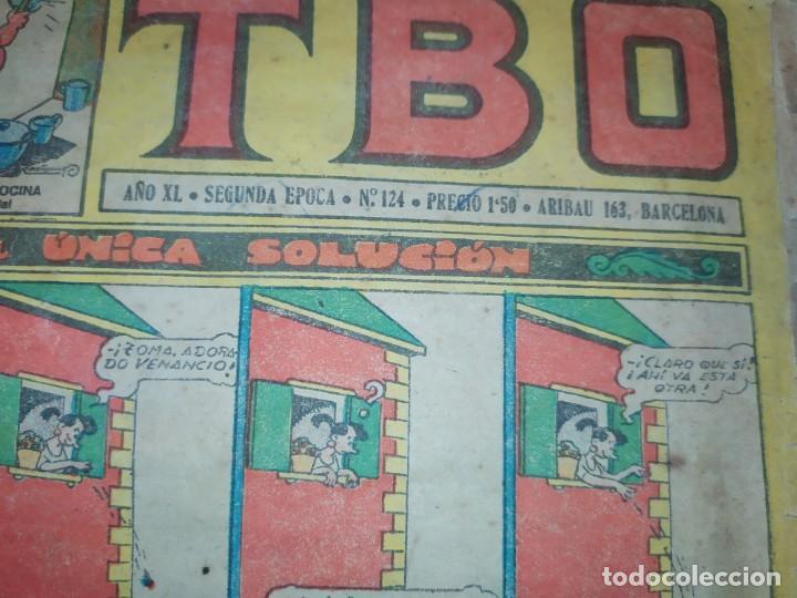 Tebeos: LOTE TBO SEGUNDA ÉPOCA N° 124 /N° 211 1958 ÚNICO? - Foto 10 - 192195180
