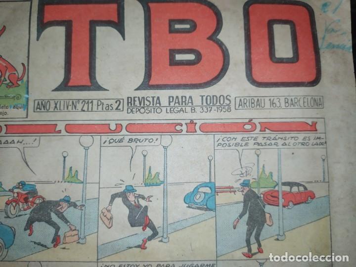 Tebeos: LOTE TBO SEGUNDA ÉPOCA N° 124 /N° 211 1958 ÚNICO? - Foto 15 - 192195180